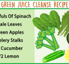 green juice cleanse