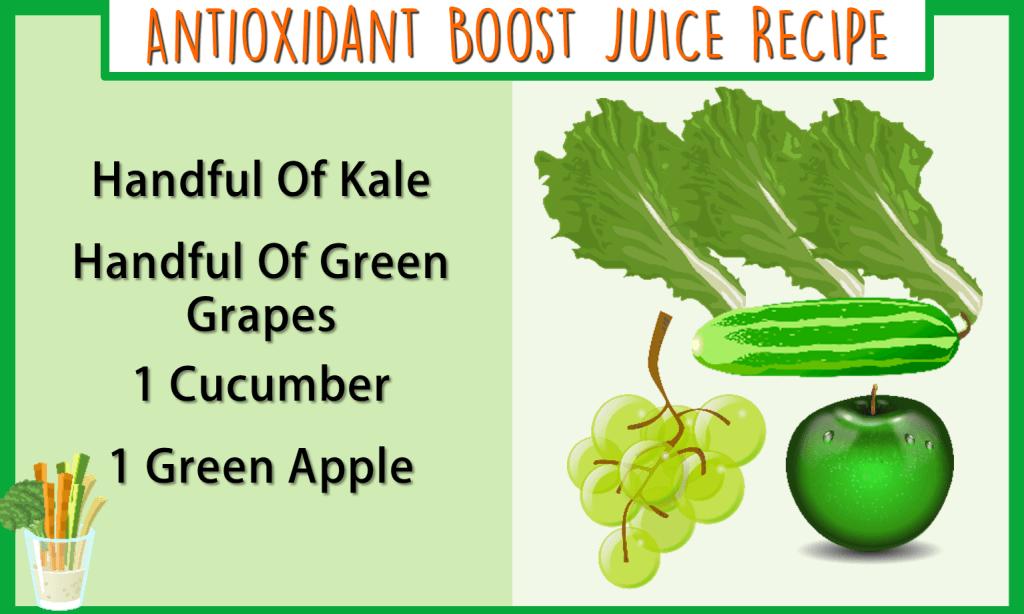 antioxidant boost juice